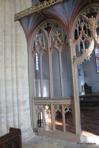 Felmersham - St Mary. Screen.