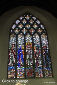 Felmersham - St Mary. East window internal.
